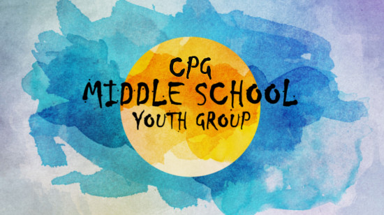 CPG Middle School Youth Group