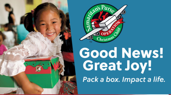 All-Campus Operation Christmas Child Collection Sunday